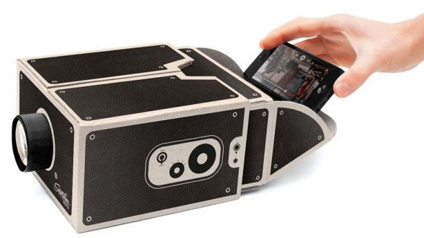 Cardboard Box Projector For Your Smartphone
