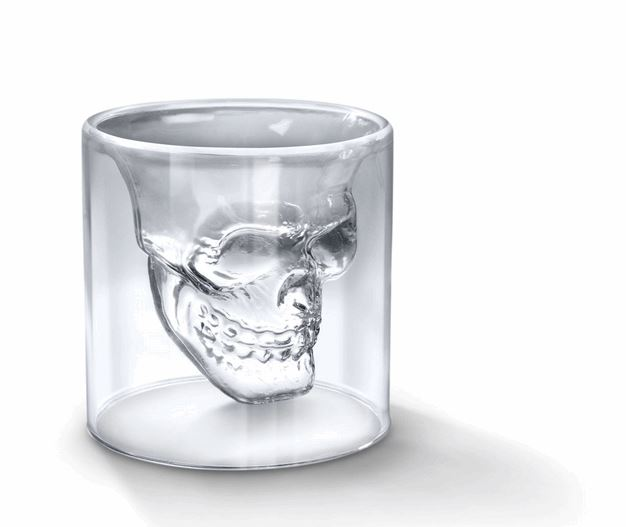 Doomed Crystal Skull Shot Glass (2)