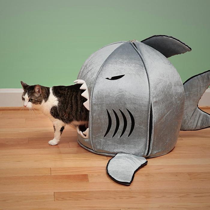 Japanese-Nanotechnology-Shark-Pet-Beds