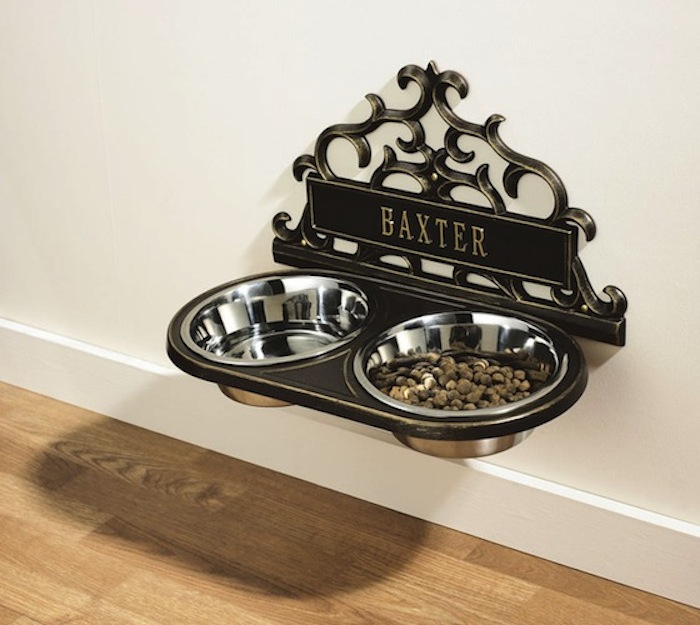 Personalized-Wall-Mount-Pet-Feeder