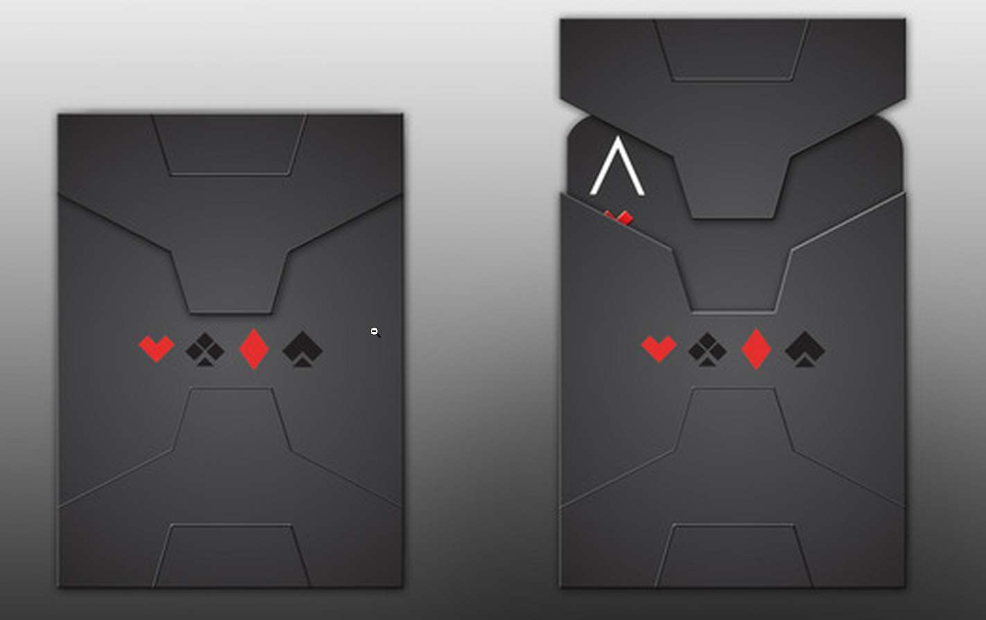 Stealth Playing Cards by AK Graphx 1