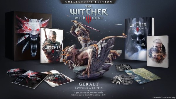The Witcher 3: Wild Hunt Xbox One Collector's Edition Unboxing