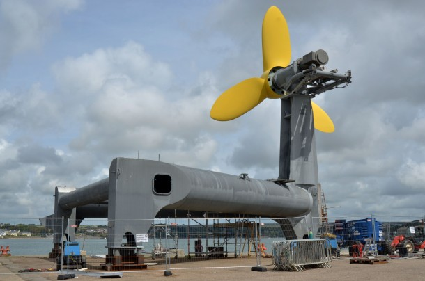 World's First Tidal Energy Generator Will Power 100 Homes in UK