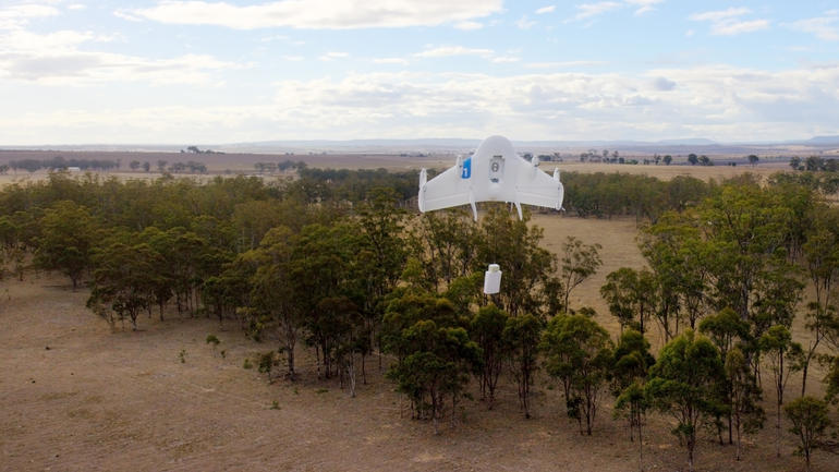 Google Drone Project Wing