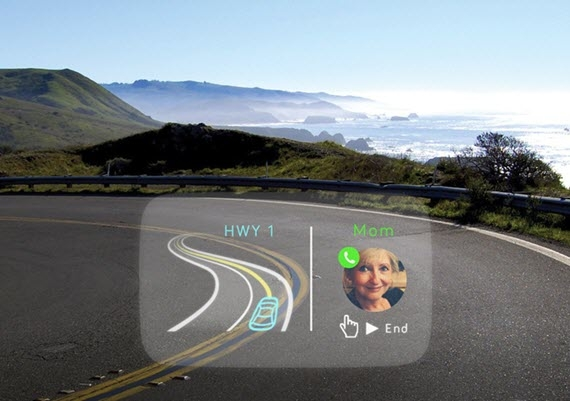 Navdy - Voice-Controlled HUD On Your Car's Windshield