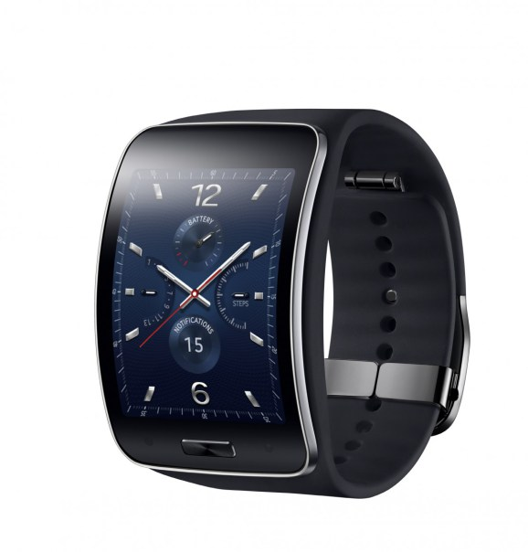 Samsung's Curved Gear S smartwatch with 3G