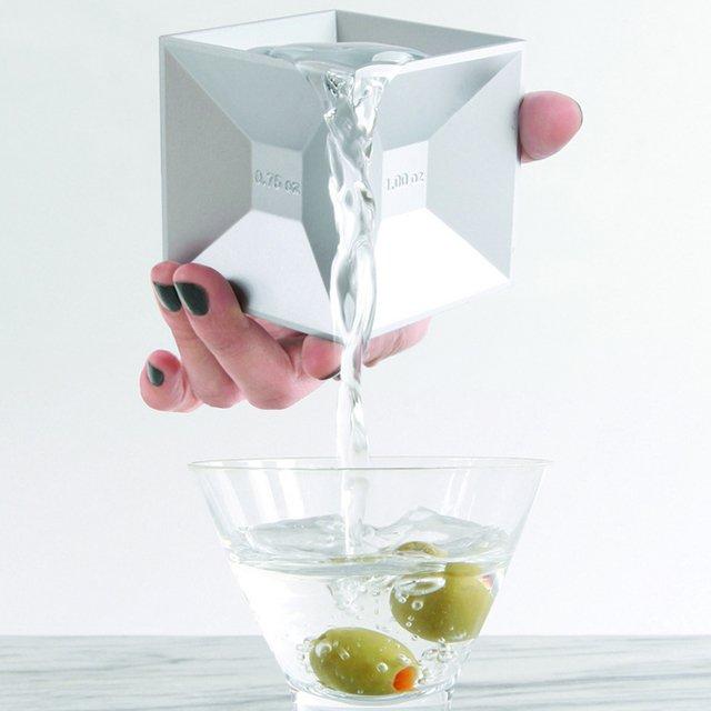 Aluminum Jigger Cube