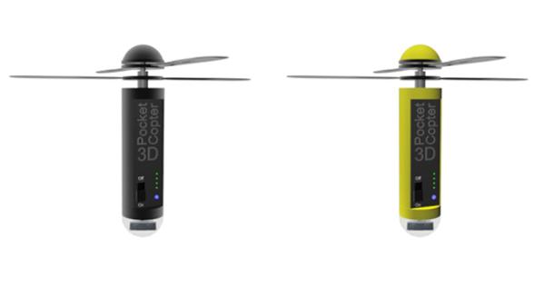 3D Pocketcopter Flying Camera