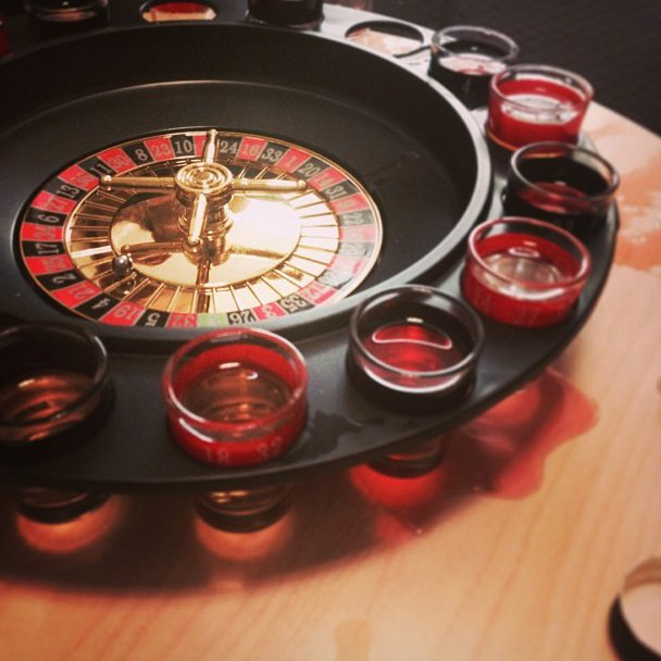 Drinkers Shot Roulette Table