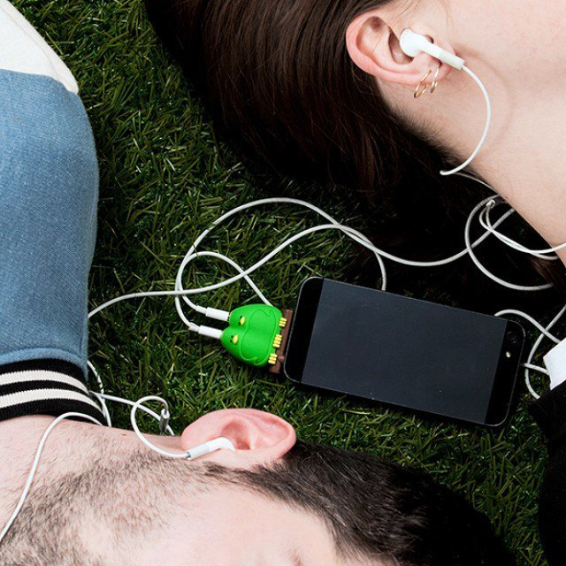 Lovebirds Headphone Splitter