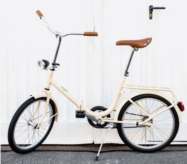 Folding Bicycle by Bruna