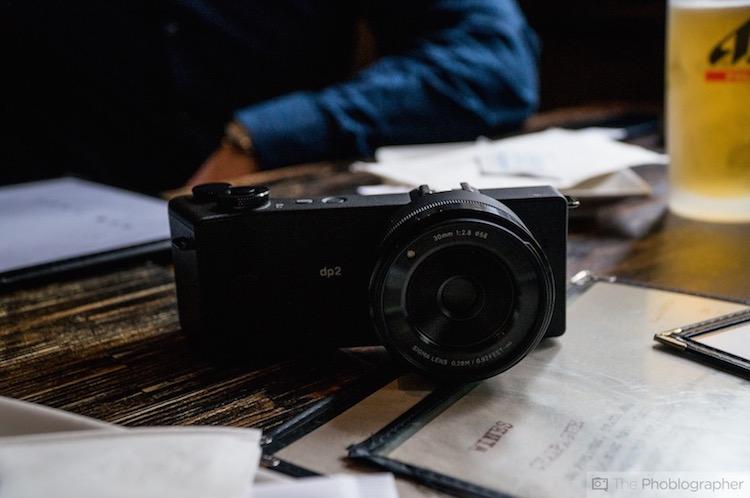 the Sigma dp2 Quattro Camera
