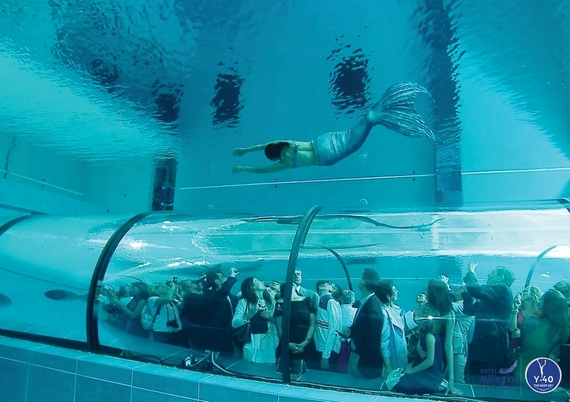 Y-40 Is The World's Deepest Swimming Pool