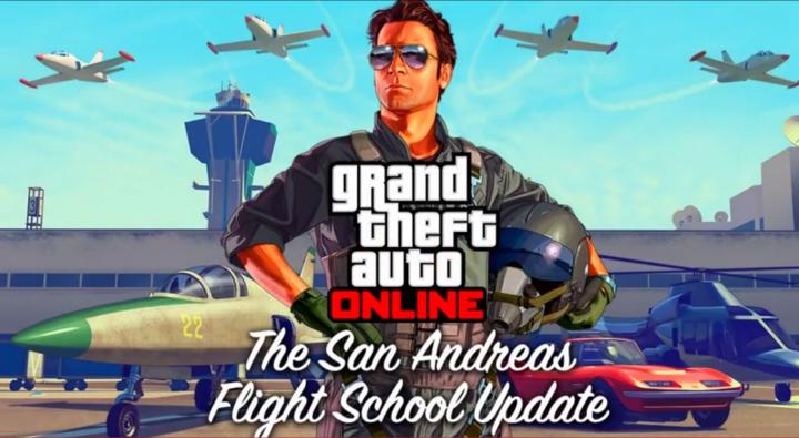 GTA 5 Flight School DLC
