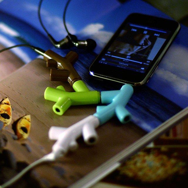 Music Branch Headphone Splitter