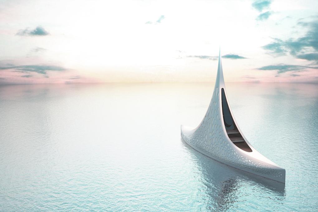 $500 Million Star-Shaped Yacht