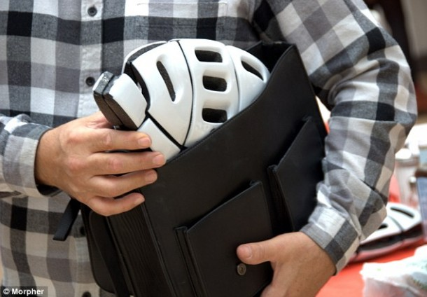 Foldable Bicycle Helmet By Plixi  (2)