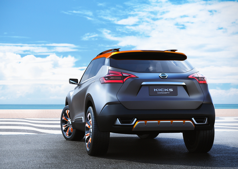 Nissan Kicks Concept Unveiled  (1)