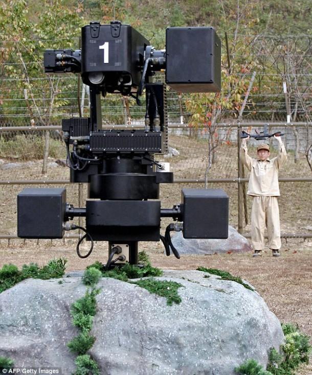 Samsung Unveils An Armed Sentry Robot - SGR-1