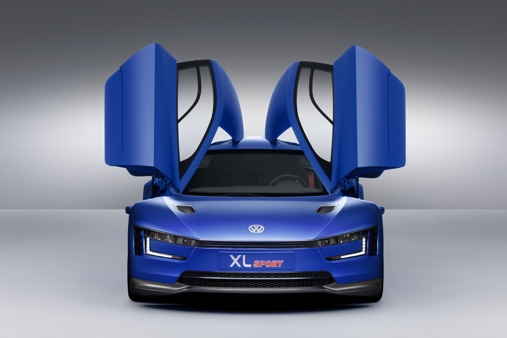 Volkswagen XL1 The Most Futuristic Car