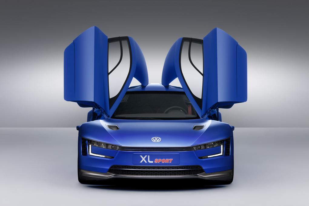 Volkswagen XL1 The Most Futuristic Car  (4)