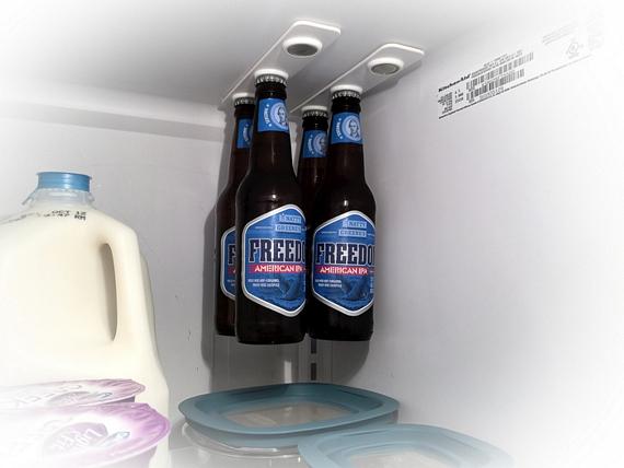 bottleLoft - Take Advantage Of Extra Headroom In Your Fridge