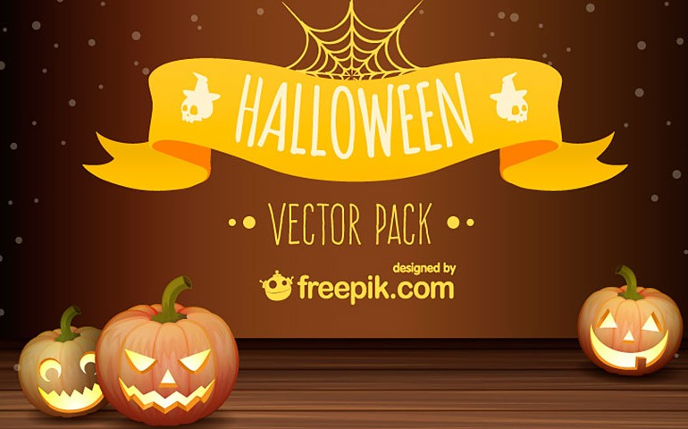 Free download: Halloween vector pack