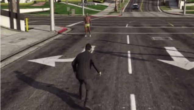 Real Life Serial Killer in GTA Online
