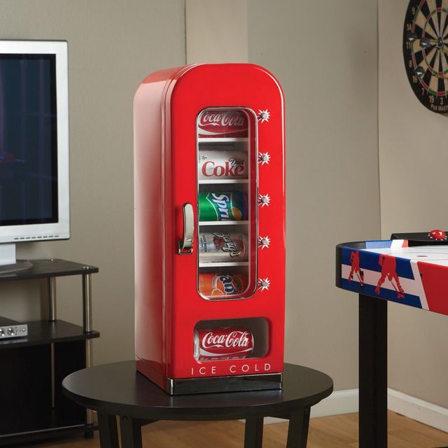 Retro Coca-Cola Vending Fridge