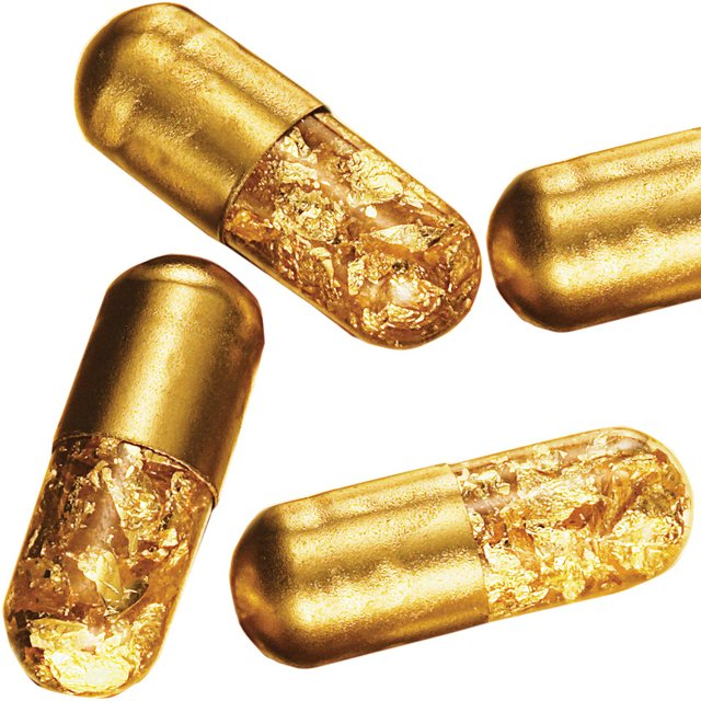 24K Gold Pills by Ju$t Another Rich Kid & Tobias Wong