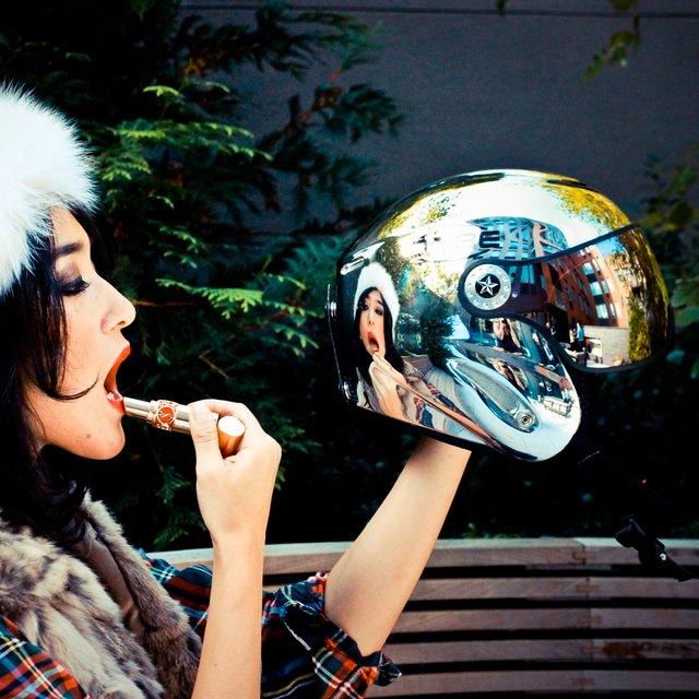 Osbe Torino Chrome Helmet