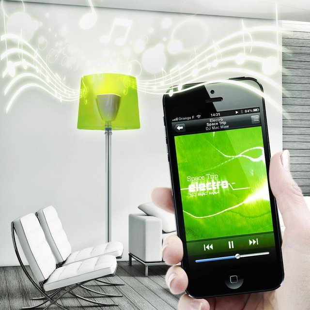 Bluetooth Speaker LED Light Bulb by AwoX