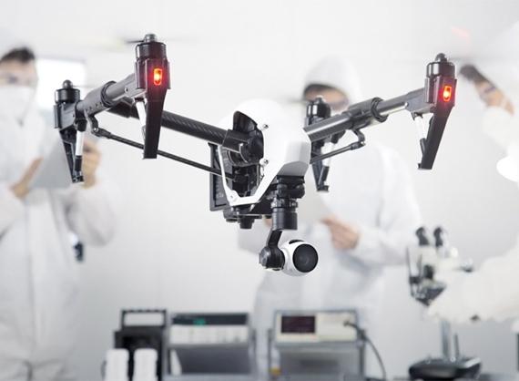 The DJI Inspire 1 Drone