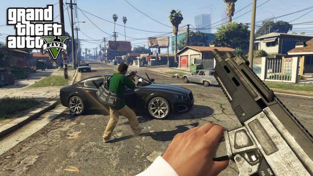 Grand Theft Auto V In First-Person