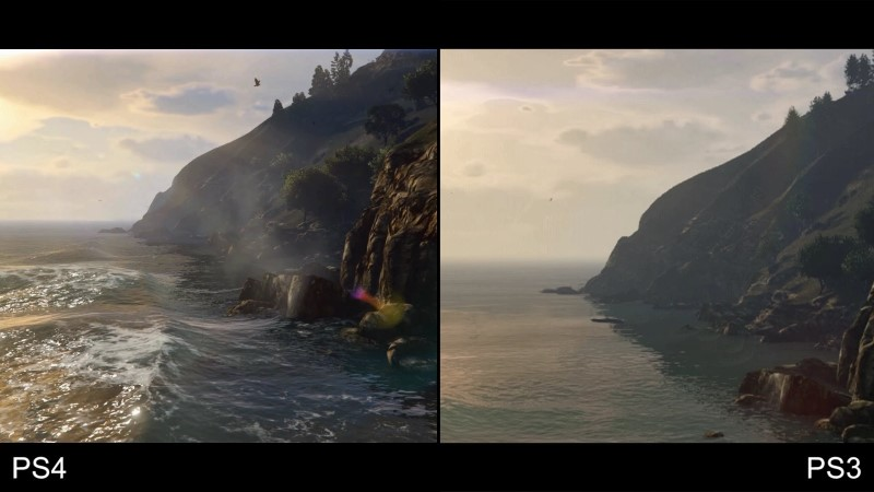 Grand Theft Auto V PS3 to PS4 Comparison Video