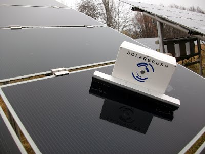 Solar Panel Cleaning Drone