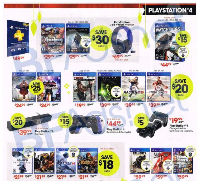 GameStop's Black Friday Deals Have Leaked