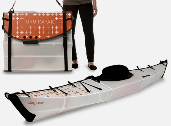 Oru Bay+ Is The Extra-Comfy Folding Kayak
