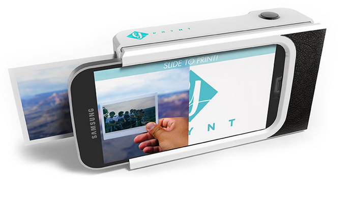 Polaroid-like Smartphone Case Will Print Pictures - Video