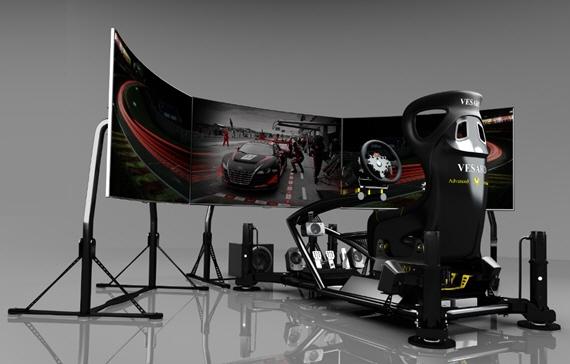 Vesaro 195 Gaming Cockpit