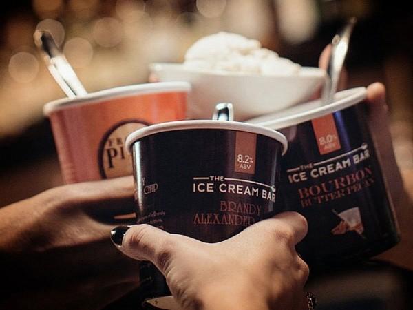Alcoholic Ice Cream Bar