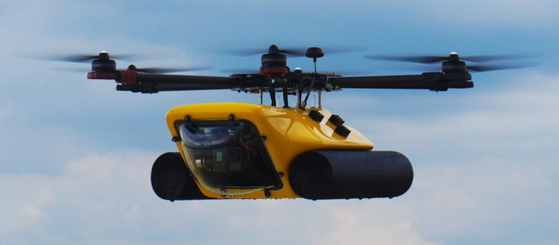 Amphibious-HexH2o-Drone-3-610x458