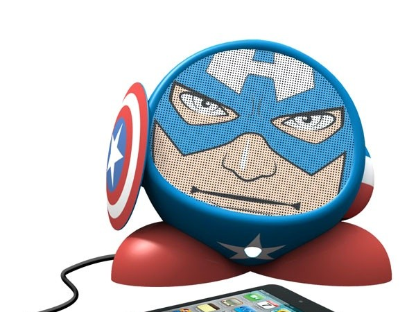 Portable Super Hero Speakers