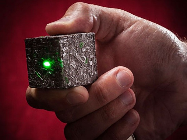 Star Trek Borg Cube Keychain Flashlight