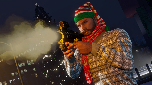 The GTA Online Festive Surprise