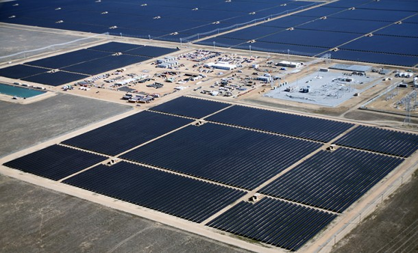 World's Largest American Solar Power Plant