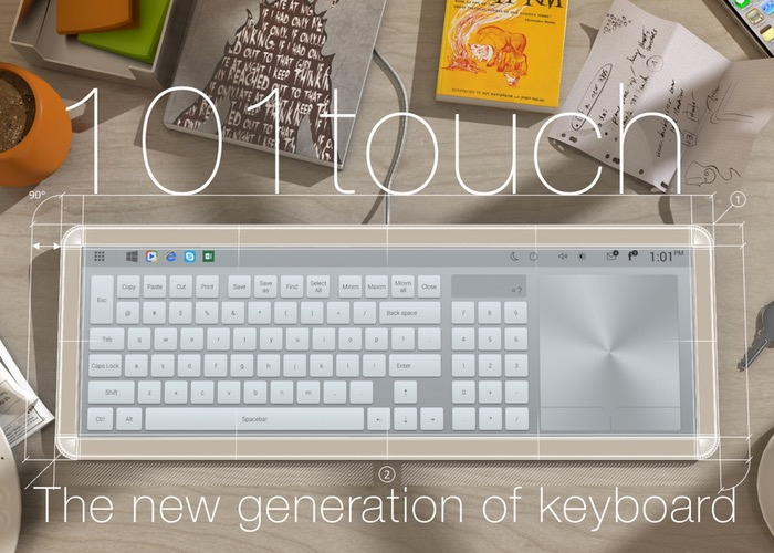 101 Touch Keyboard