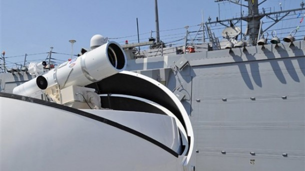 Laser Weapon's Are A Reality Now