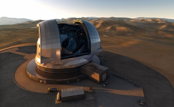 World's Largest Telescope in Chile (1)