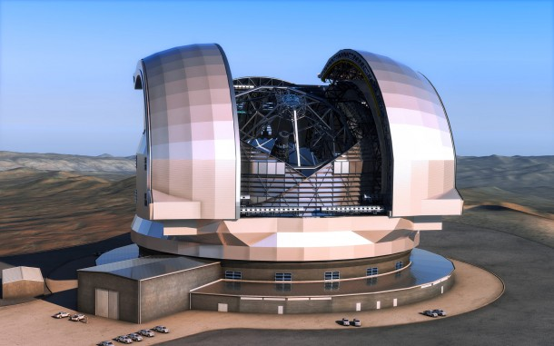 World's Largest Telescope in Chile (2)